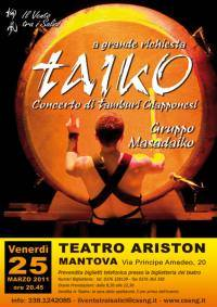 Taiko Mantova concerto tamburi giapponesi