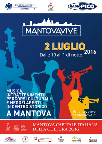 Notte bianca e saldi Mantova Vive 9 luglio 2016