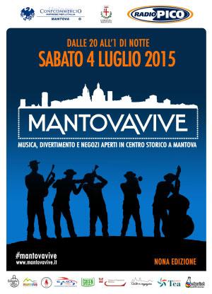 Notte Bianca Mantova Vive 4 luglio 2015