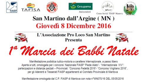 Marcia Babbi Natale 2016 San Martino Dall'Argine (Mantova)