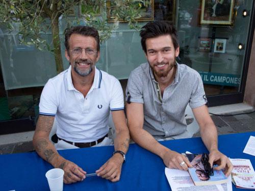 Marco Deambrogio e Riccardo Perini Fiera Grazie 2014