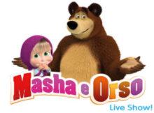 Masha e Orso live show Mantova 2016