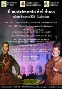Il Matrimonio del Duca a Sabbioneta (Mantova)