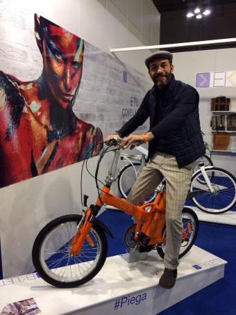 Max Laudadio bici elettrica Ekletta