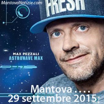 Concerto Max Pezzali Mantova 2015