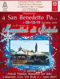 Mercatini Natale 2010 San Benedetto Po (Mantova)