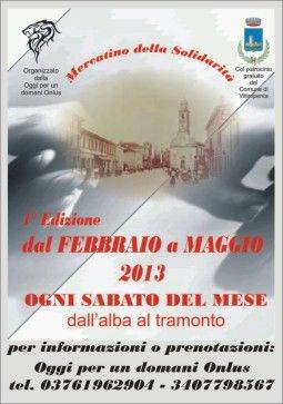 Mercatino solidarietà Villimpenta (Mantova)