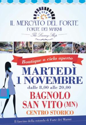 Mercato del Forte Bagnolo San Vito (MN) 1 novembre 2016