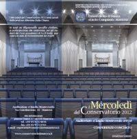 Mercoledì Conservatorio Mantova 2012