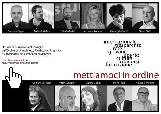 Ordine Architetti Mantova: Mettiamoci in Ordine