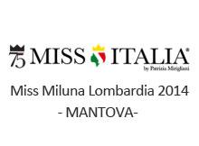 Miss Miluna Lombardia 2014 Mantova
