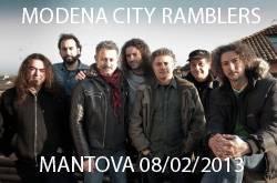 Modena City Ramblers Mantova 2013