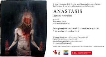 Mostra Anastasis Agostino Arrivabene Mantova 2016