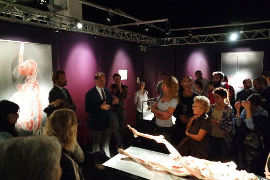mantovani colti malore mostra anatomica real bodies