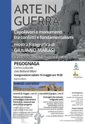 Mostra foto arte in guerra Giuliano Marasi Pegognaga 2016