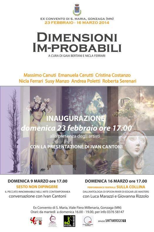 Mostra Dimensioni Improbabili Gonzaga (Mantova)