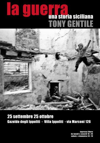Mostra fotografie Tony Gentile La Guerra, Gazoldo degli Ippoliti Mantova 2017