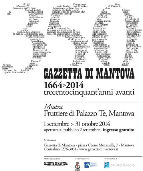 Mostra Gazzetta di Mantova 2014