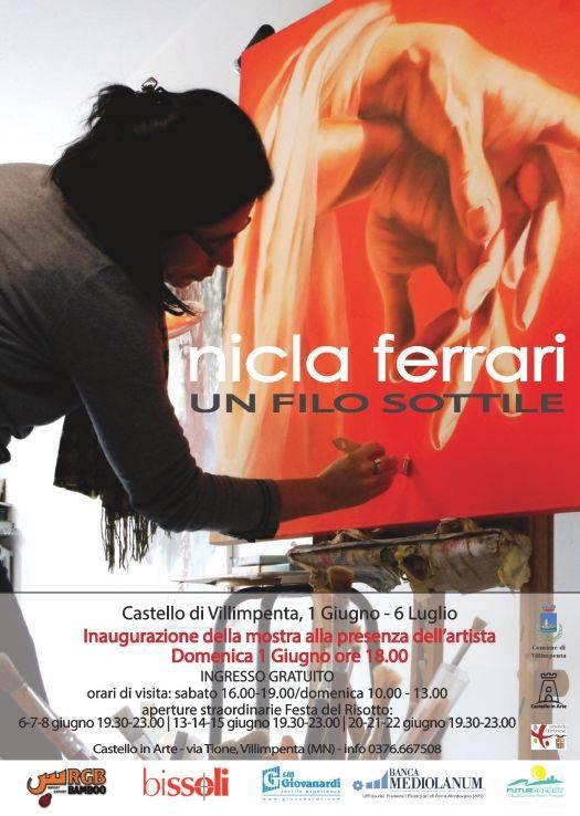 mostra Nicla Ferrari Villimpenta (Mantova)