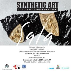 Mostra Synthetic Art Giovanni Sala Sabbioneta 2017