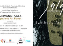 Synthetic Art Planet mostra Giovanni Sala Mantova 2016