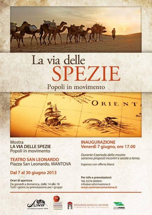 Mostra La via delle spezie. Popoli in movimento a Mantova