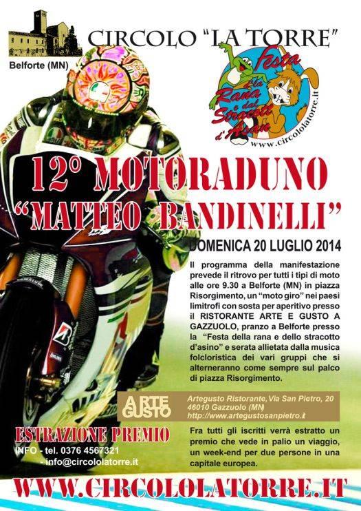 Moto Raduno Matteo Bandinelli 2014 Belforte Mantova