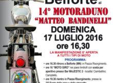 Moto raduno Matteo Bandinelli 2016 Belforte Mantova