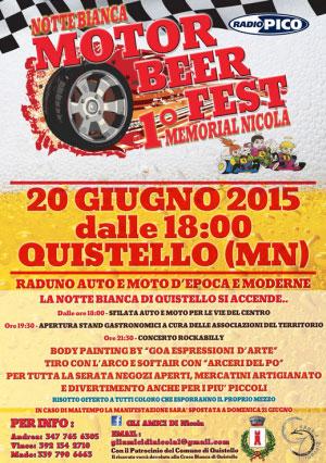 Motor Beer Fest Notte Bianca Quistello 2015