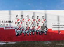 Murales Piccolo Brasile 1960 1961 Mantova Calcio