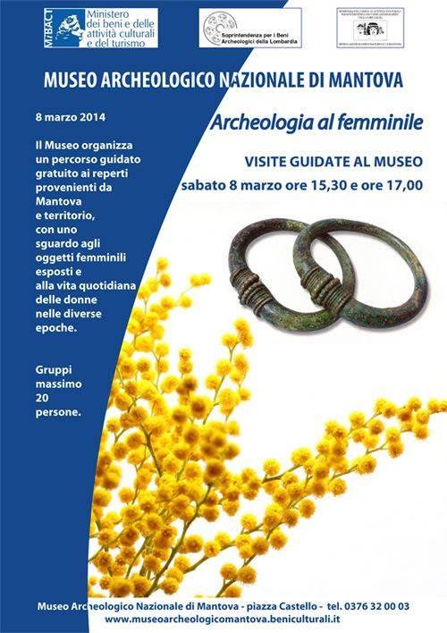 Museo Archeologico Mantova Festa Donna 2014