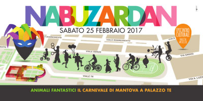 Nabuzardan Carnevale 2017 Mantova per bambini