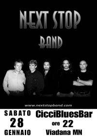 Next Stop Band @ Ciccibluesbar Viadana 28/01/2012