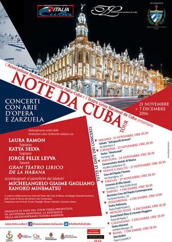 Note da Cuba Mantova 2016