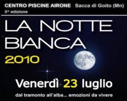 Notte Bianca 2010, Piscine Airone ì, Sacca di Goito (MN)