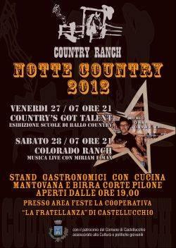 Notte Country 2012 Castellucchio (Mantova)