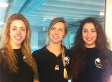 nuoto Laura Caceffo, Alice Veghini e Ginevra Occhio Mantova