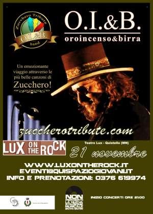 OIB Oro Incenso Birra Zucchero Tribute Band Quistello (MN)