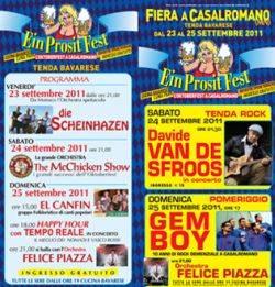Oktober Fest 2011 Casalromano (Mantova)