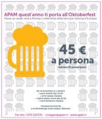 Oktoberfest 2010: Pulman Mantova - Monaco di Baviera