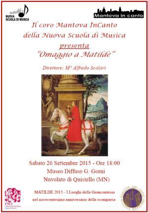 Concerto Omaggio Matilde di Canossa Quistello 2015