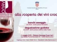 ONAV alla scoperta dei vini croati a Volta Mantovana (MN)