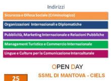 Open Day Ciels Mantova Laurea in Mediazione Linguistica 2016 2017