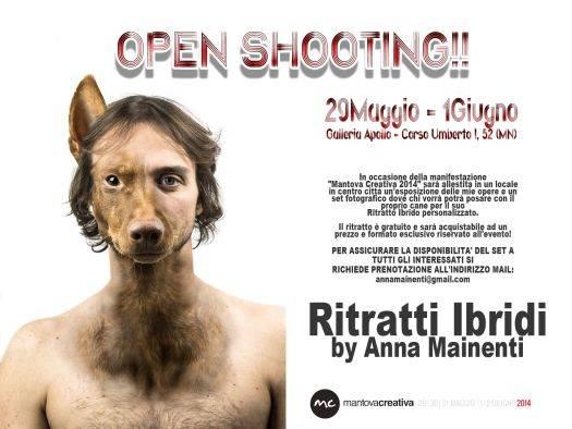 Open Shooting Ritratti Ibridi Anna Mainenti