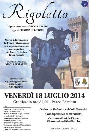 Opera Rigoletto di Verdi a Guidizzolo (Mantova)