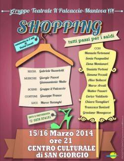 Gruppo teatrale Palcaccio: Shopping, tutti pazzi per i saldi