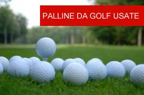 Palline da Golf Usate