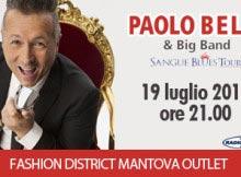 Concerto Paolo Belli Mantova Fashion District 2014