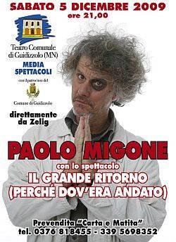 Paolo Migone: Il Grande Ritorno (Perché Dov'era Andato)