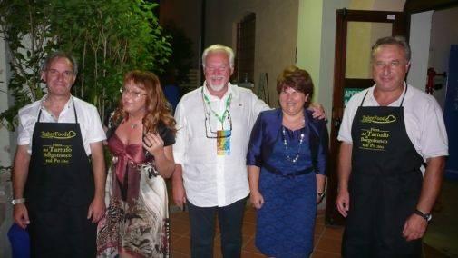 Paolo Polettini con Comune e Pro Loco di Borgofranco sul Po (Mantova)